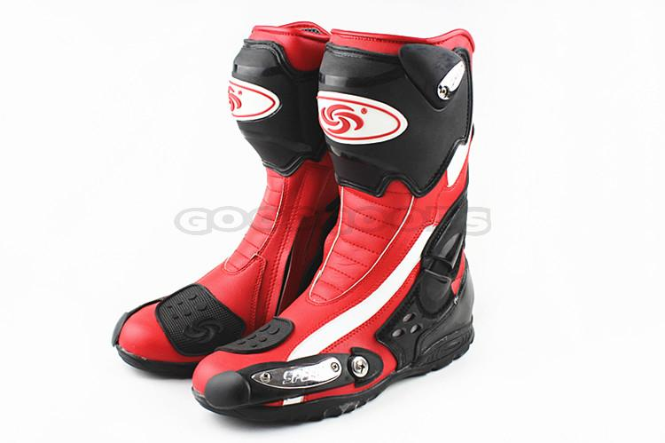 Hot Motorcycle Boots PRO-BIKER SPEED BIKERS Moto Racing Riding Boots M