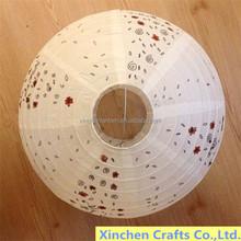 2015 new design mixture colors & sizes foldable wedding lantern