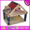2015 New kids wooden play house,popular children wooden play house and hot sale lovely baby wooden play house WJ276308