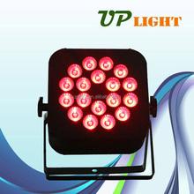 dj light 18w RGBWA+UV 6in1 mini flat par led wall washer light