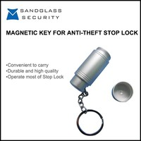 Good quality portable magnetic key for anti-theft stop lock