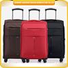 2015 wholesale soft shell trolley sets custom design luggage sets nylon luggage trolley sets