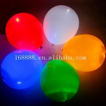 Factory wholesale christmas ornament wedding decoration Led Balloons night light Latex balloon
