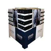 Supermarket promotion cardboard t shirt display stand
