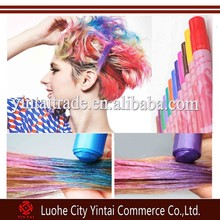 12 color stick kinds temporary hair crayon one time use hair chalk hair dye