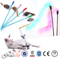 [Grace Pet]China Wholesale Pet Toy Cat Playing Rod