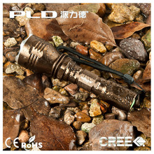 High power T6 emergency compact long range rechargeable flashlight