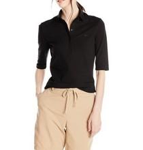 latest girls summer fashion tee shirt factory black casual lady cheap t shirt