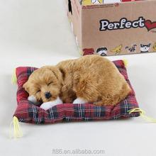 EN71 good quality customized fake fur breathing dog