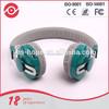 leather headband wireless earmuff bluetooth headphone for children