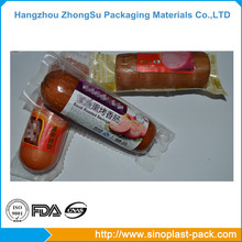 Heating seal laminating plastic film for food package