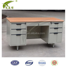 Desk commercial,office desk with locking drawers,executive office furniture