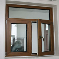 Aluminum Alloy Frame Material and Casement Windows Type Blind inside double glass window
