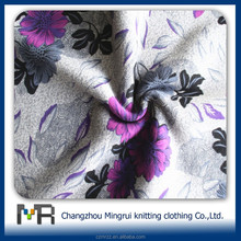 polyester cotton knitted Printing circular knitted fabric