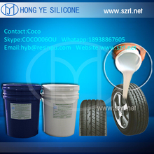 how to make car tyre molds by silicone rubber