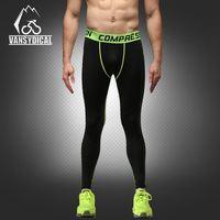 PRO summer new men's sports pants pants basketball soccer fitness jogging breathable quick dry pants mens sports leggings