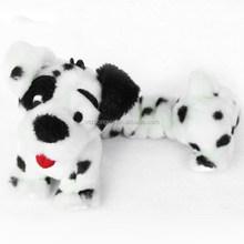 plush dog toy/stuffed animal with elastic rope