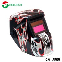Solar cell & lithium battery Auto darkening Welding Mask/Welding Helmet Cheap Price