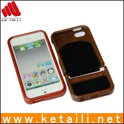 New design wooden cell phone case for iphone