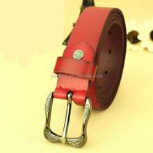 New style wholesale leather covered belt buckle , 2015 cow leather belt hot selling