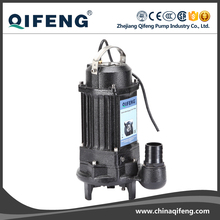 CE certification vertical cutter submersible water automatic pump with float