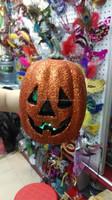 new arrival LED flash light foam artificial pumpkins