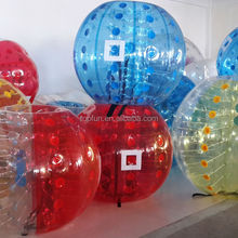 2014 top quality colorful inflatable human bumper ball prices