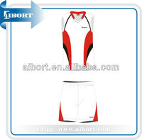 2015 new fashion cheap women volleyball uniform for sale