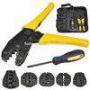 Hand tools mechanical terminals crimping plier kit For cable cord end sleeves 10-35mm2 LXK-30JN