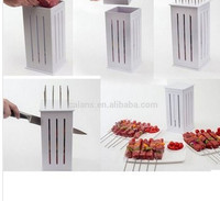16 skewers/holes non-collapsible rapid wear meat,shashlik,kebab,BBQ tool