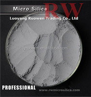 Micro silica fume as adding material of sticky thick sandy liquid