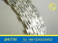 weight barbed wire/concertina razor barbed wire with pallet/low price concertina razor barbed wire