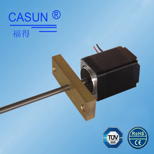 Mini step motor 28mm fast speed 100mN.m 1.8 deg. external steppe nema 11 linear stepper motor actuator lead screw with slider