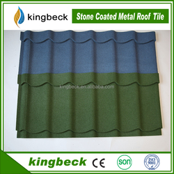 building material roof tile/colorful stone coated metal roofing