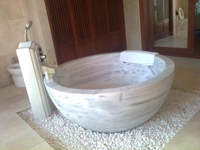 Image result for stone bathtub
