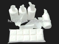 Embossing square disposable soft non-woven cotton pads