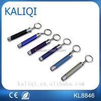 China factory Led Mini flashlight promotion Flash Led Light keychain for enterprise
