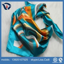 Alibaba 100% Silk Scarf Wholesale China Women Silk/Polyester scarf