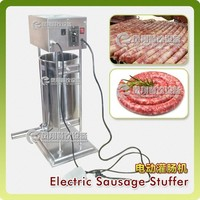 ETV15L 15L horizontal electric frankfurter sausage stuffer machine