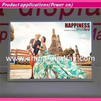 Hot Sales New Model Plastic Photo Frames Wedding Love LED Light Box