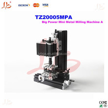 multi-purpose mini lathe machine TZ20005MPA Big Power Mini Metal Milling Machine A
