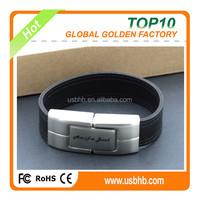 elegant leather bracelet 4GB usb flash drive Whole sale China