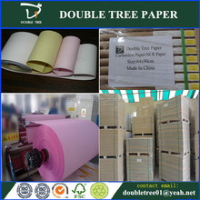 hot sale different colors carbonless ncr paper manufacture