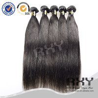 24 26 28inch silk straight raw virgin mongolian wet and wavy hair weave