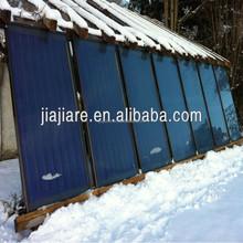 2015 JIAJIARE hot sale Solar Keymark flat plate solar water heater collector