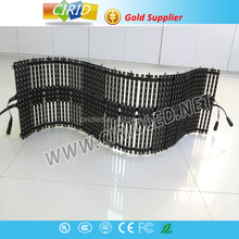 New arrival easy installation light weight Indoor Foldable LED Curtain Screen