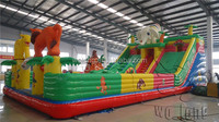 Inflatable slip n slide / giant city inflatable slide / cheap big water slide for sale