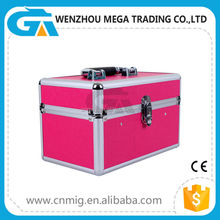 Popular Portable Waterproof Beauty Aluminum Customized Makeup Case and Box