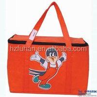 Eco Friendly Reusable Tote Bag Grocery Foldable Cartoon Logo Shopping Bag
