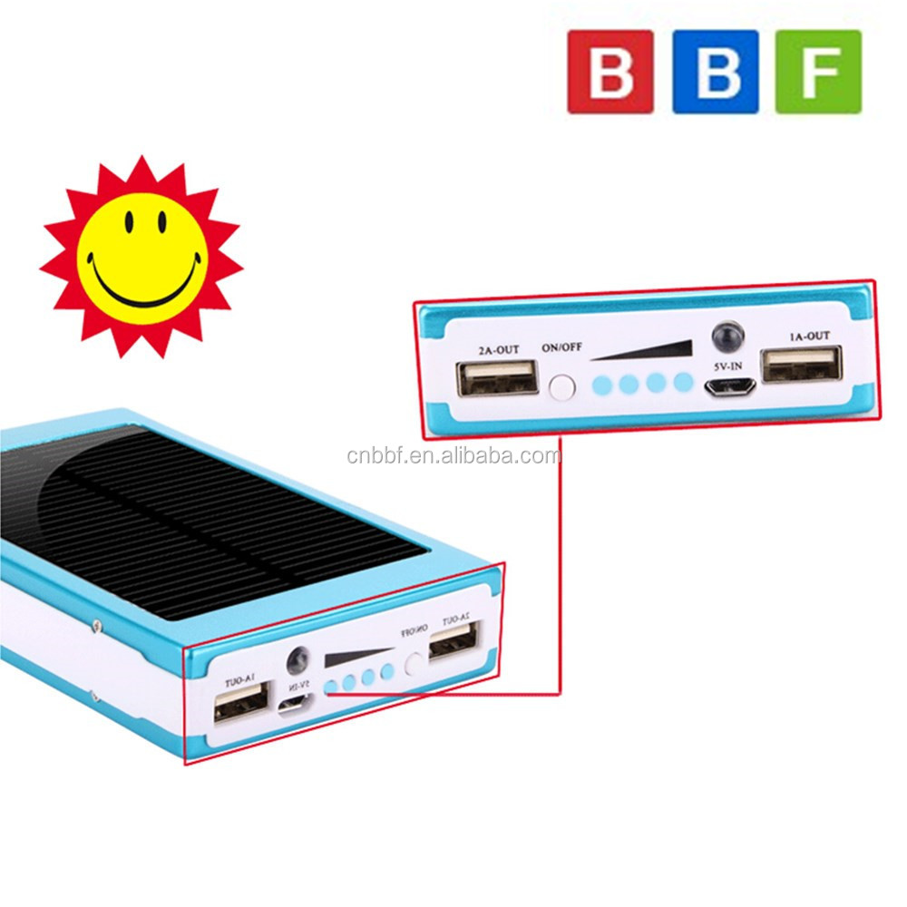 2 In 1 Portable Solar Move Power Bank Mobile Battery Charger For With Overcharge Protection Electronic Adavanced Intelligent Chip Discharge Overload Short Circuit Leakage And 5